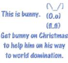 Get bunny on Christmas