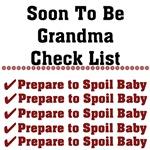 Grandma To Be Checklist