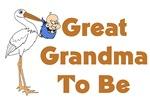 Stork Great Grandma To Be