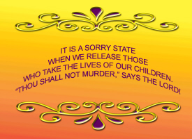 RELIGION/PROTECT OUR CHILDREN