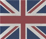 Woven Union Jack Flag