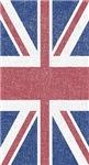 Worn Union Jack Flag
