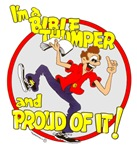 ... Bible thumper and proud of it.