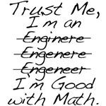 Funny Engineer Good at Math