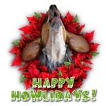English Coonhound baying