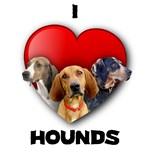 St Valentine's Hounds with text