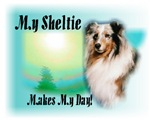 <h5>My Sheltie Makes My day</h5>