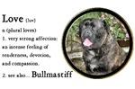 Bullmastiff Love Is