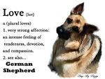 German Shepherd Love Is
