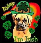 Bullmastiff St. Patricks Day