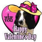 English Springer Spaniel  Valentines Day Gifts