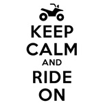 Keep Calm Ride On Design