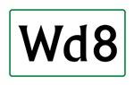 Wd8 Classic Logo
