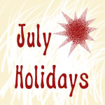 July Strange Holidays