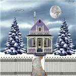 Lavender Snow Cottage