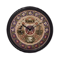 Hindu Art Clocks