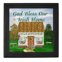 Irish Village Series© Keepsake Boxes (2 Colors)