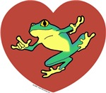ASL Frog in Heart