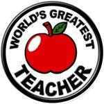 World's Greatest Teacher with Apple