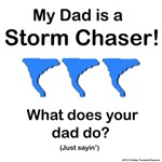 Baby Twister Chasers DAD Blue Tornado