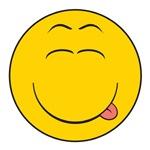 Licking/Slurping Smiley Face