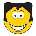 Elvis Impersonator Smiley Face