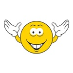 Cheering Smiley Face