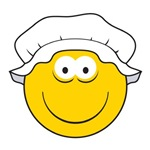 OLd-Fashioned Maid Smiley Face