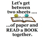 LET'S GET BETWEEN TWO BOOK SHEETS