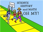 SCIENCE HISTORY & MATH OH MY!