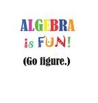 ALGEBRA is FUN! Go figure.