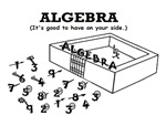 ALGEBRA GOOD ON YOUR SIDE