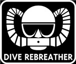 Dive Rebreather on Black