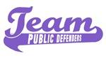 Purple Team Softball Jerseys and Caps