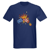 Stars and Stripes American Firecracker T Shirts