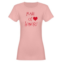 Maid of Honor Wedding Apparel Hip Grafitti T Shirt