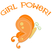 Pretty Butterfly Girl Power T-Shirts Gifts