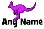 Kangaroo Design with Any Name