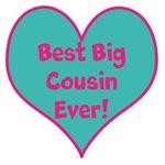 Best Big Cousin Ever! heart
