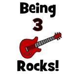 Being 3 Rocks!