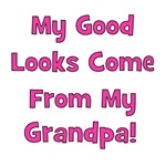 Good Looks from Grandpa - Pink