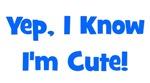 Yep, I know I'm cute! Blue