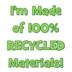 Made of 100% Recycled (green)