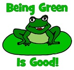 Being Green Frog