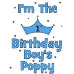 1st Birthday Boy's Poppy!