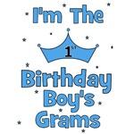 1st Birthday Boy's Grams!