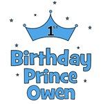1st Birthday Prince OWEN!