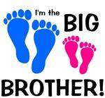 Big Brother Baby Footprints