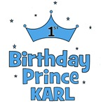1st Birthday Prince KARL!