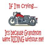 BikerBaby Cry - Grandmom